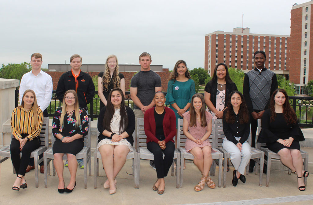 Lawton scholarship recipients